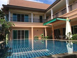 Luxury 4 bedrooms pool villa in Rawai  Phuket