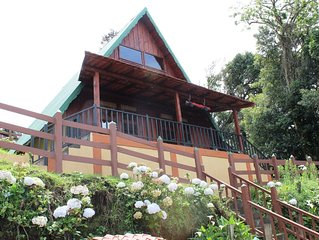 Stunning Mountain Chalet for Rent on Barva Volcano, Costa Rica w/ Full Amenities