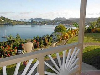 Affordable, Tranquil, St. Lucia Carnival, Bay View Apartment