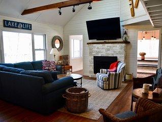 4 BD, 2BA fully renovated Lakeside Cottage on Lake Wallenpaupack
