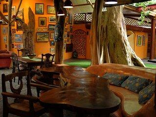 Crystal House at Tree House Lodge in Punta Uva