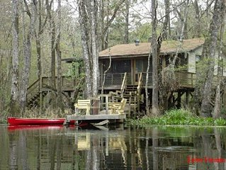 Relax on a Beautiful River in a Natural Florida Setting