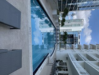 Modern and Prime Location, Studio in Miami with Free Parking.