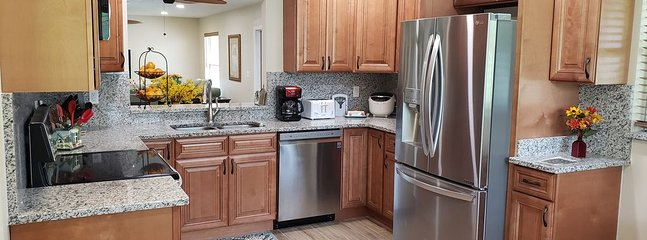 New Kitchen with all new (2019) Stainless Steel appliances.