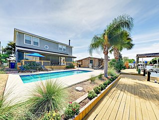 TurnKey - Remarkable 4BR Home on Canal w/ Pool & Private Dock