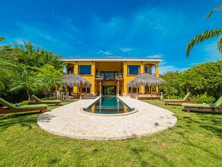 Luxury Private Beachfront Home- Best Location in Tamarindo