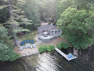 Classic Maine Cottage on Water's Edge
