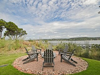 Lake Views From an Impeccable Patio at the Reserve at Lake Travis
