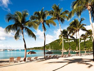 Charming studio villa at Westin St.John,Virgin Grand.Gorgeous Resort!
