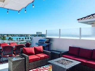 Private Rooftop Terrace with Hot Tub and Stunning Ocean Views!!