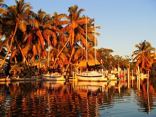 Middle Florida Keys Bayfront Hideaways with Sailboat, near Marathon and Key West