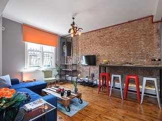 GALATA NEW -TWO BEDROOM AND TWO BATHROOM APARTMENT *LACASADESENER