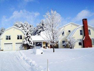 Elegant Mountain Retreat For All Seasons - New: Seasonal Rental Available!