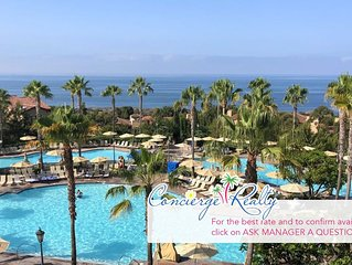 Beautiful two bedroom villa at luxurious Marriott Newport Coast! Best Rates!