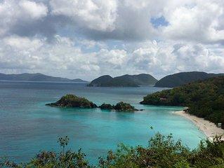 Fabulous Views to St. John and the British Virgin islands
