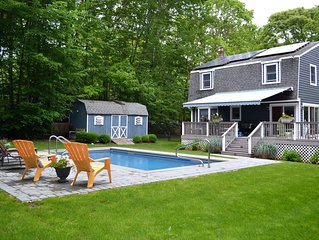 Water Mill - 3 Br Rental with an Inviting Back Deck and Pool