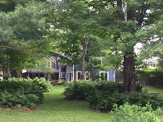 Welcome to The Blue House - a charming, relaxing fully renovated colonial home.