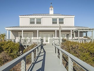 Fairwinds: Inviting Oceanfront Home Built to Entertain Both Indoors and Out