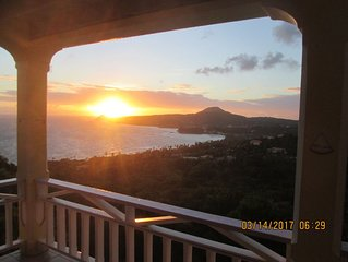 New listing! Breathtaking View! Secluded Villa on Scenic North Coast
