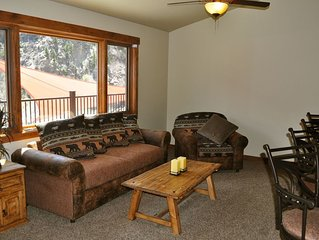 Luxury 2 Bdrm Condo perched high above the Colorado River with spectacular views