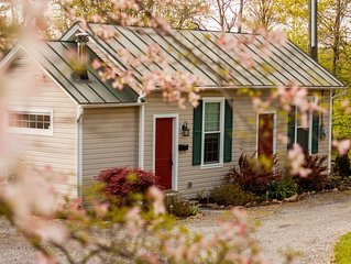 Historic Artist's Cottage on 5 Acre Property Near Blue Ridge Mts. and Wineries