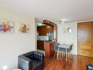Depto bien equipado en Santiago Centro - Well-equipped Apt. in Downtown Santiago