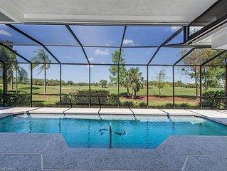 LUXURY GOLF GET-AWAY Stunning Private Home w Salt WaterPool Hot Tub CC access!