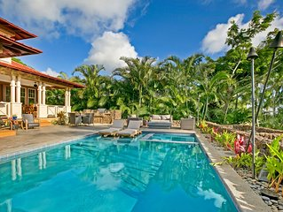 Pristine Ocean and Mountain View Home in Kukuiula