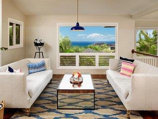 Enchanting 4-bedroom Kauai Princeville ocean view retreat!