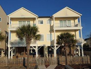 Stunning Oceanfront & Beachfront 5 BR/4.5 BA Home
