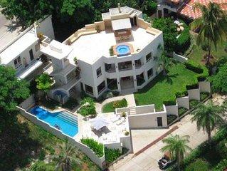 Private Oceanside Villa Playa Flamingo