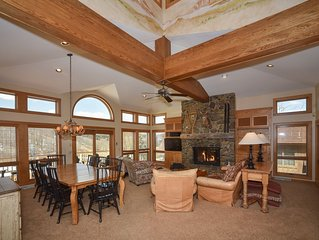 Luxurious Holimont Ski In/Out Mountain Mansion