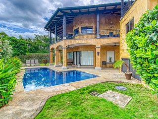 Beautiful beach-house with private pool and gardens!