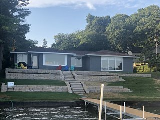 Beautiful views from this 4 Bedroom Lakefront home on Lake Mary - walk to town