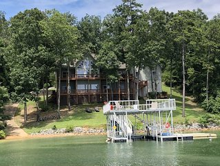 Smith Lake Rentals & Sales - DECKED OUT - Gorgeous Decks overlooking the Lake