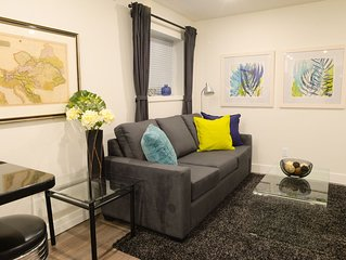 Kitsilano Oasis: New Garden Suite with King Bed - Permit 19-175893 ★ ★ ★ ★ ★