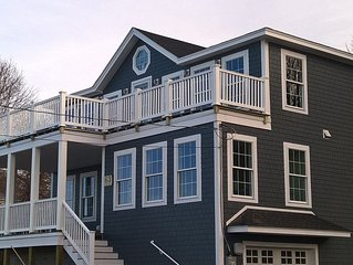 Brand new home overlooking Plum Island Sound and Ocean
