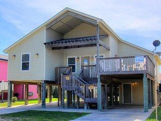 Sandcastle Drive, Walk to Beach, BOAT PARKING, TWO Decks, 4 BEDROOM, WIFI