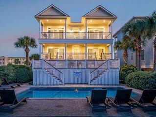 $1280 OFF! 'Palm Manor' on Isle of Palms ~ PRIVATE POOL (Heatable), ELEVATOR, OC