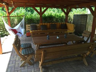 Come and Chill In....Our place is located on the hillside of Kovacovske Kopce