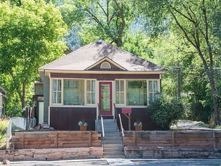 Charming Victorian Home w/ Relaxing Front Porch, Steps to Downtown & Hot Springs