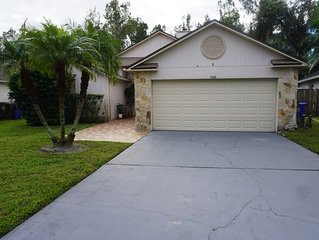Beautiful 3 Bedroom 2 full bath 2 car � garage.