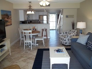 Coquina A208 - Just gorgeous, directly on Cresscent Beach !