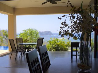 Fantastic Ocean & Jungle Views, Very Private, 10-min walk to Samara beach