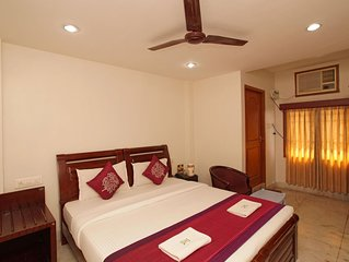 Popular guest house in the heart of the city of Chennai.