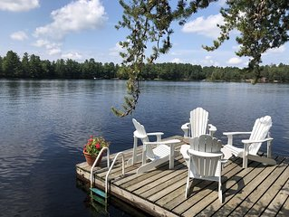 Gorgeous Cottage with 300+ft of lake frontage