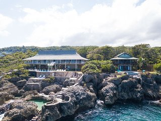 Blow Hole Villa & Cottage - 5 Bedrooms - Pools, Chef, Butler, Housekeepers