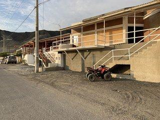 SECHIN HOUSE ,  ubicada en el Balneario de Tortugas Caleta Norte