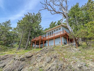 Waterfront with a private deck!