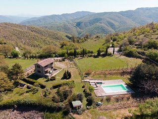 Rural Tuscany | Independent villa with private pool and garden